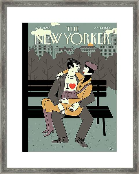New Yorker April 1st, 2013 Framed Print