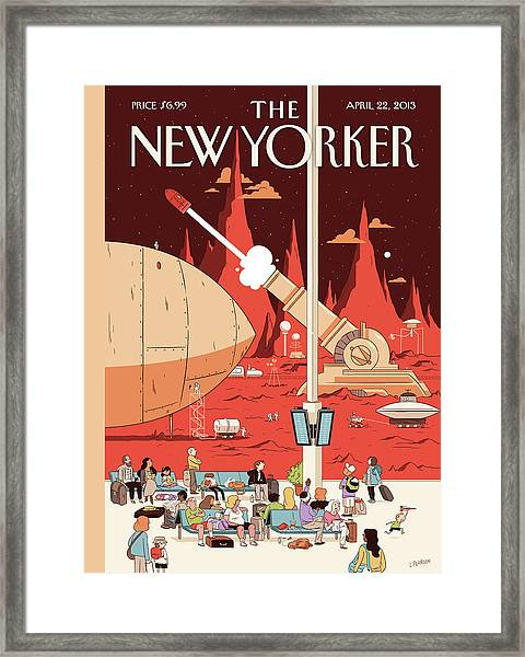 New Yorker April 22nd, 2013 Framed Print