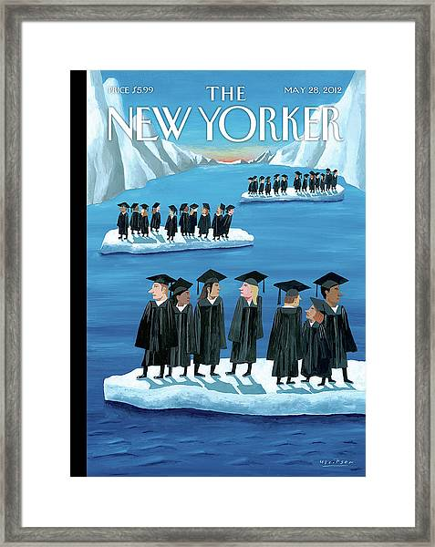 New Yorker May 28th, 2012 Framed Print