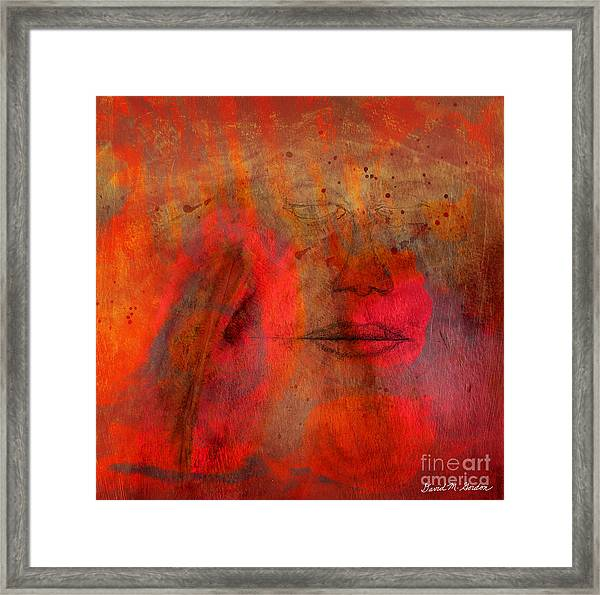 Untitled Mixed Media No. 1 Framed Print