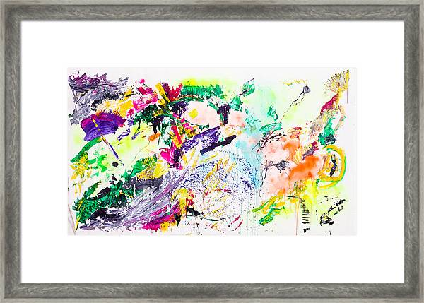 Untitled Number Eight Framed Print