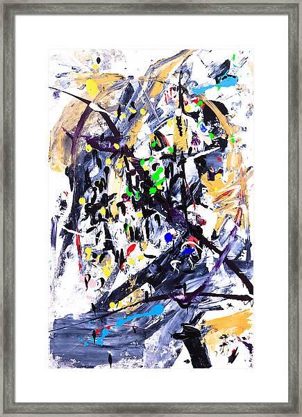 Untitled Number Fifteen  Framed Print