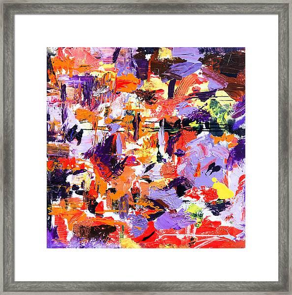 Untitled Number Seventeen Framed Print