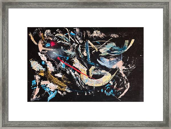 Untitled Number Ten Framed Print
