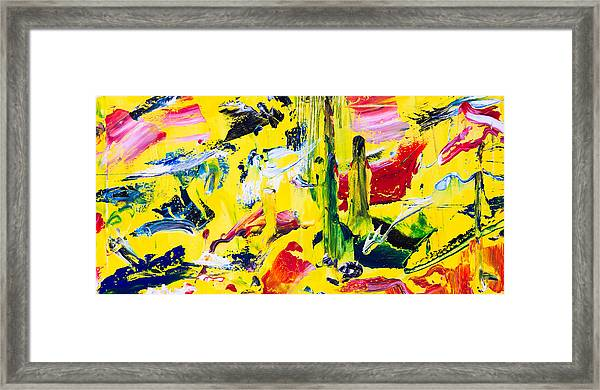 Untitled Number Twenty Framed Print