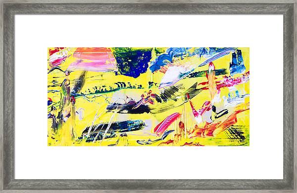 Untitled Number Twenty One Framed Print