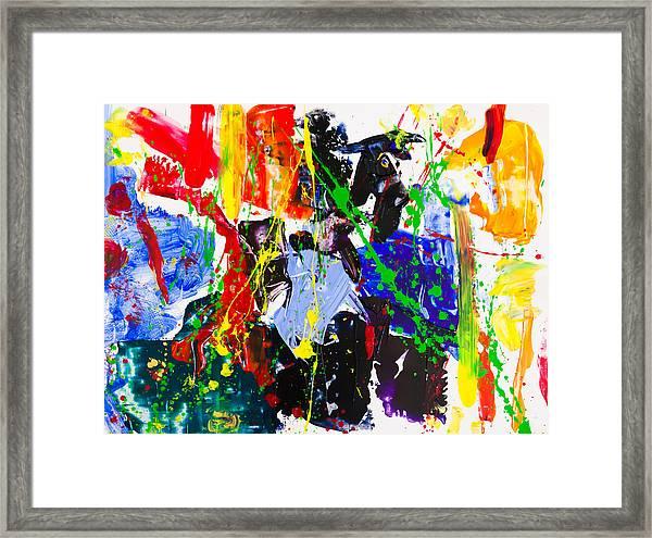 Untitled Number Twenty Three Framed Print