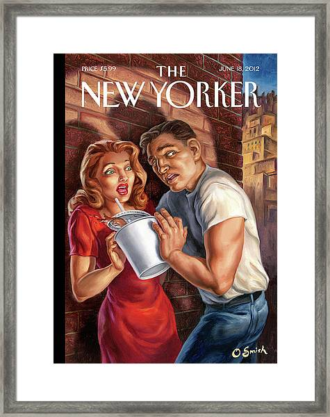 New Yorker June 18th, 2012 Framed Print