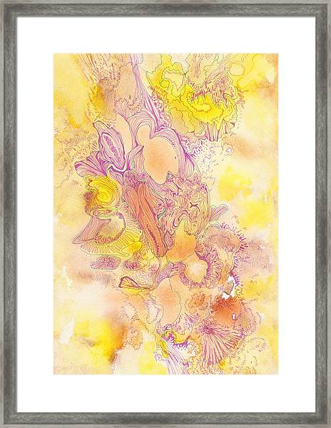 Untitled - #ss13dw041 Framed Print by Satomi Sugimoto