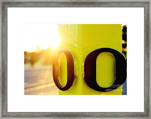 Uo 6 Framed Print