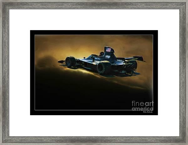 Uop Shadow F1 Car Framed Print