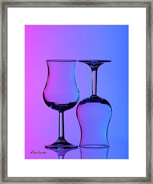 Up And Down Framed Print