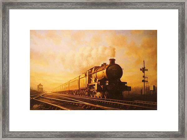 Up Express To Paddington Framed Print