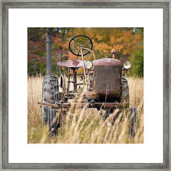 Up In Years Framed Print