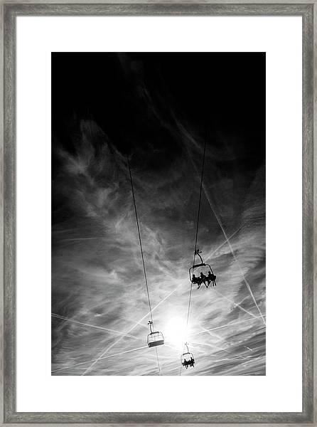 Up Framed Print