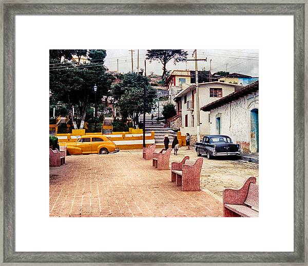 Up Town Framed Print