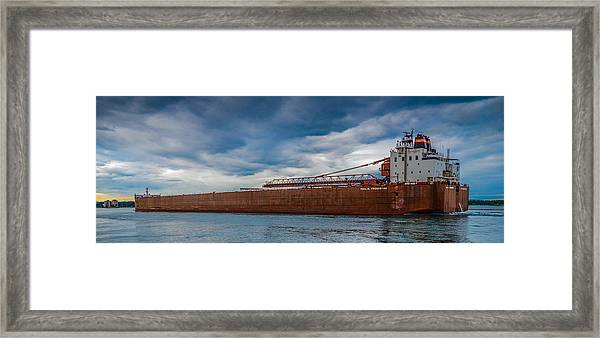 Upbound At Mission Point 2 Framed Print
