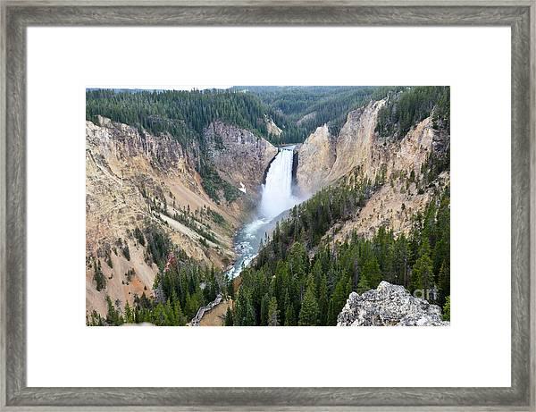Lower Falls Framed Print