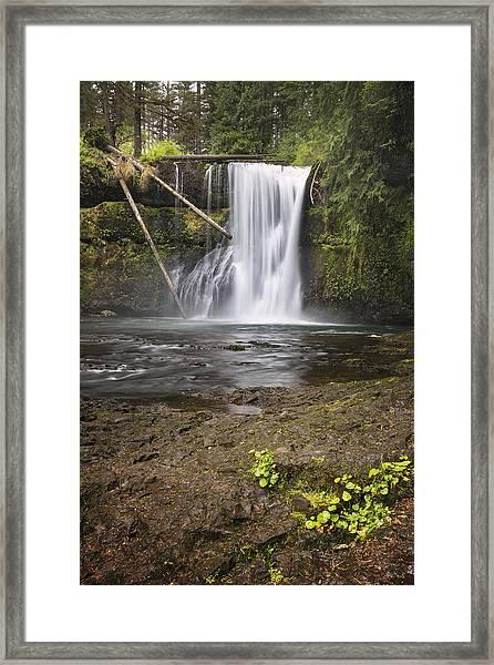 Upper North Falls Framed Print