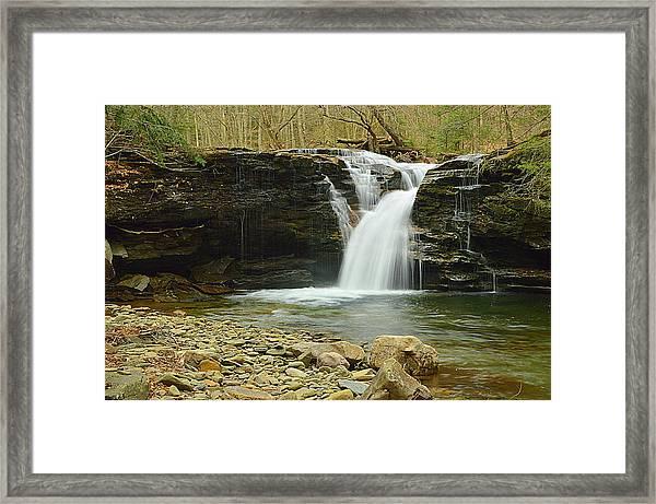 Upper Twin Falls #1 Framed Print