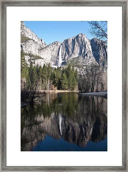 Upper Yosemite Fall Framed Print