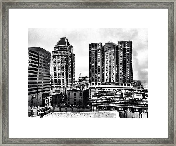 Uptown Baltimore Framed Print