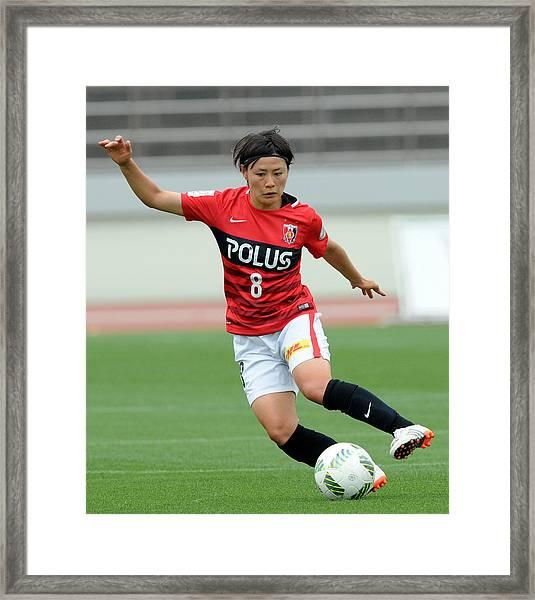 Urawa Red Diamonds Ladies V Ac Nagano Parceiro Ladies - Nadeshiko League Framed Print by Hiroki Watanabe