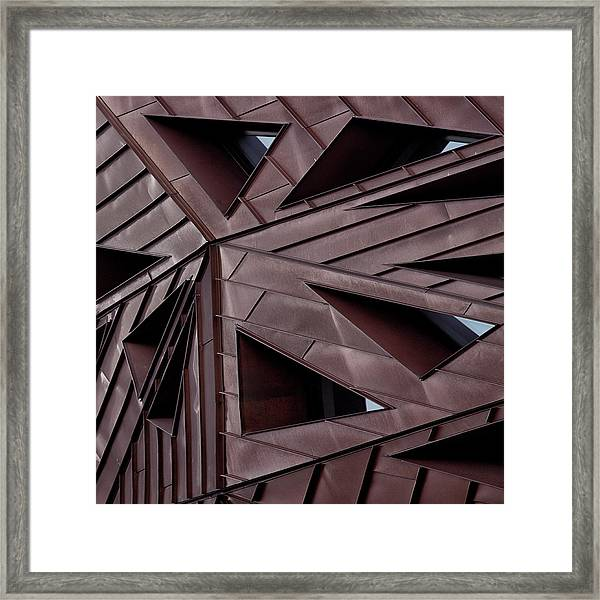 Urban Asymmetry Framed Print