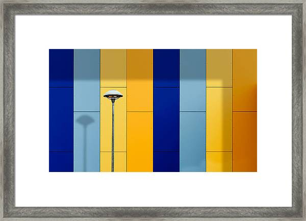 Urban Colors Framed Print