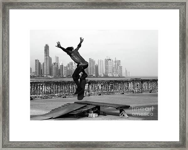 Urban Flight 2 Framed Print
