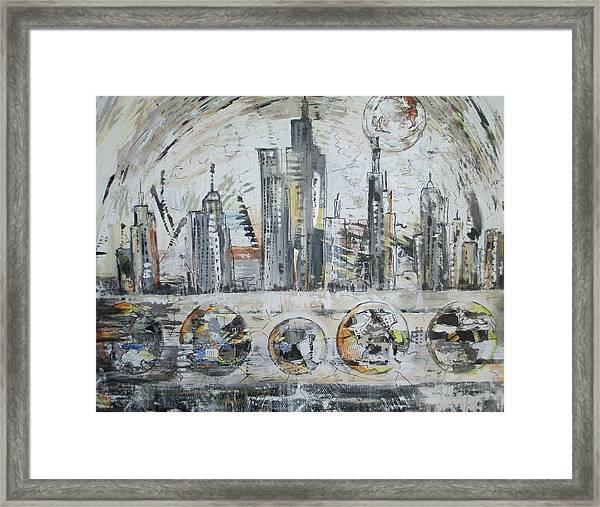 Urban Rumble Framed Print