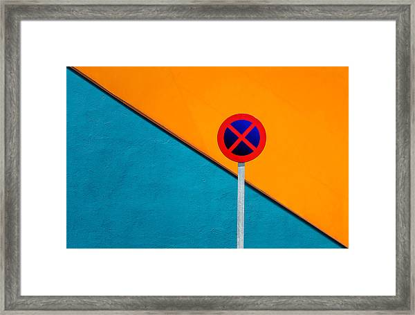 Urban Shot Framed Print