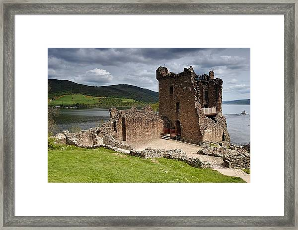 Urquhart Tower Framed Print
