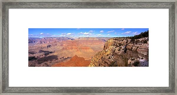 Us, Arizona, Grand Canyon, View Framed Print