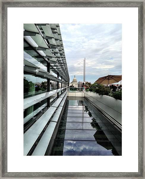 U.s. Capitol Framed Print