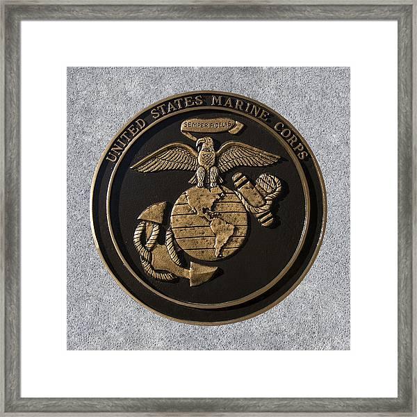 Us Marine Corps Framed Print