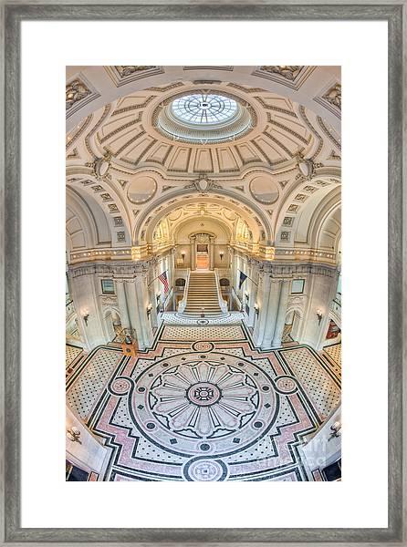 Us Naval Academy Bancroft Hall IIi Framed Print