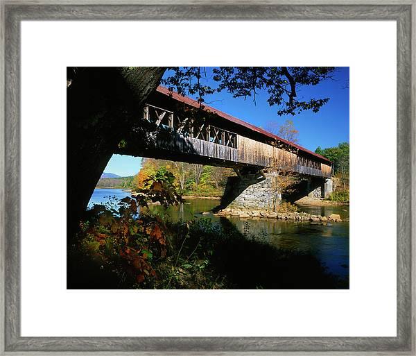 Usa, New Hampshire, Campton Framed Print