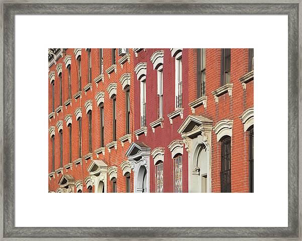 Usa, New York, New York City, Brooklyn Framed Print