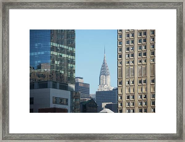 Usa, New York, New York City Framed Print