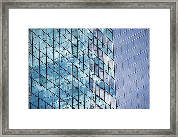 Usa, New York State, New York City, Low Framed Print