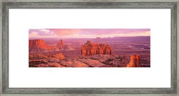 Usa, Utah, Canyonlands National Park Framed Print