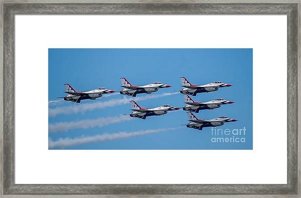 U.s.a.f. Thunderbirds Framed Print