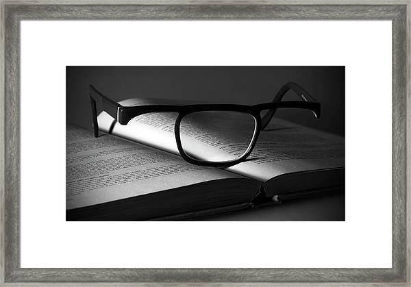 Useless Series - The Glass Framed Print