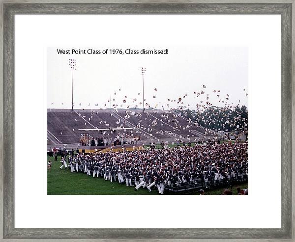 Usma Class Of 1976 Framed Print