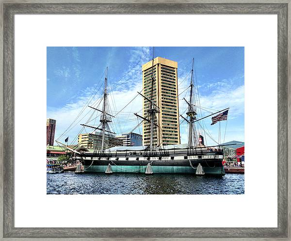 Uss Constellation Framed Print