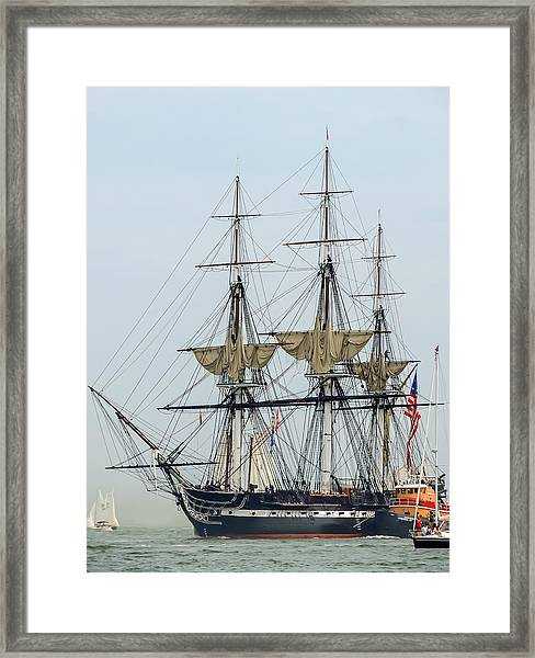 Uss Constitution Framed Print