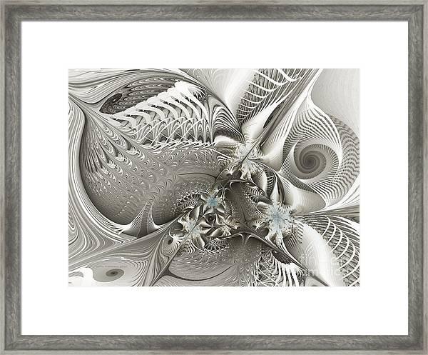 Utopia-fractal Art Framed Print