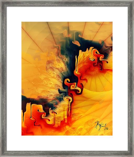 V-18 Framed Print