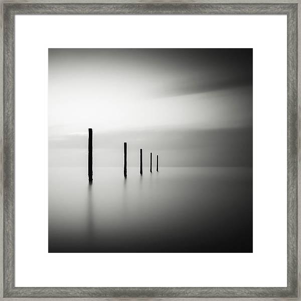 V Framed Print by Christophe Staelens